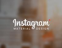 Instagram | Material Design
