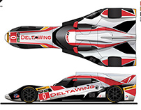 2014 DeltaWing Livery