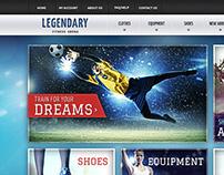 E-Commerce Sports Theme