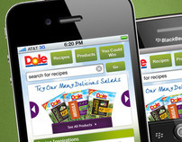 Dole Salads - Mobile Site