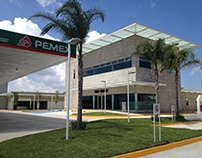 Estación de Servicio Aguamilpa, franquicia PEMEX