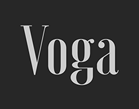 Voga typeface