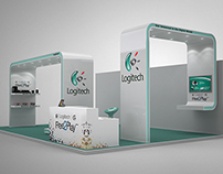 Logitech Exhibition Stall