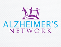 Alzheimer's Network Logo Design