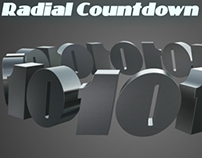 Radial 3D Countdown