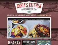 Annia's Kitchen WordPress Website