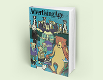 Advertising age Magazine Cover Concept