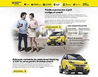 Raiffeisen Smartbanking website