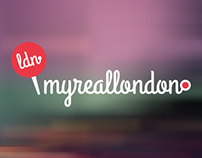 My Real London Logo and Website