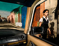 PRODUCTION - Cities from a Taxi © Daniel Duart