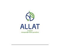 Logo for ALLAT landscape design studio