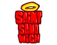 diseño de personajes para saint sandwich.