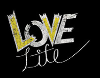 Love life Typography