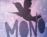 Mono & Tomydeepestego // Gig Poster