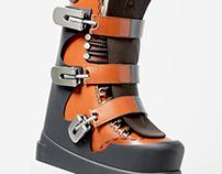 The Alpine Ski Boot