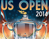 US OPEN 2014 Concept sketches