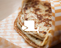 Petit Nord, French Creperie Branding