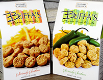 Buffa's Cheese Biscuits - Branding/Packaging