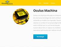 Sitio Web & Logo OculusMachina