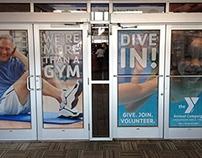 YMCA Door Clings