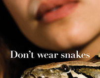 Don't Wear Snakes