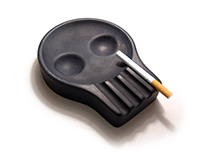 Ash Tray Skully