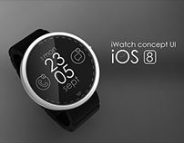 Apple iWatch UI