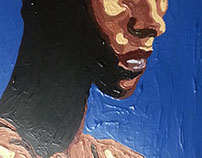 Yasmin Warsame painting