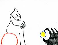 """комикс """"Жизнь без сыра"""" для Бумфеста"""
