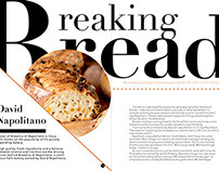 Breaking Bread Magazine Layout