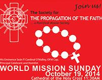 World Mission Sunday 2014
