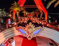 """Masquerade - Colorful Disguise"" at Porto Montenegro"