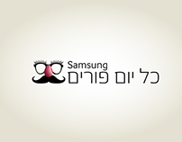 Samsung SMART VOD purim campaign (never published)