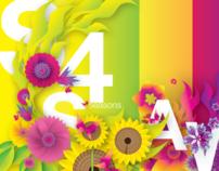 Illustration   Four Seasons e-Card