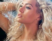 Blonde Beauty Retouching