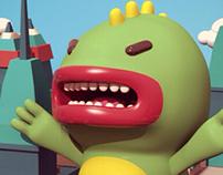 Gojira!! 3D Character Design