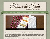 Toque de Seda - Website