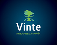 Identity redesign for real estate developer Vinte