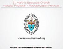 St. Martin's Episcopal Church Web Redesign - SCHOOL