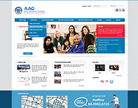 AAC English Centre website