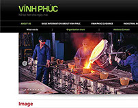 Website for Vinh Phuc Province