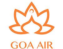 Goa Air Branding