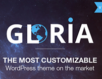 The Most Customizable WordPress Theme - GLORIA