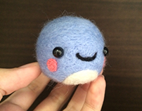 Felted Squirtle