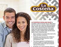 La Costeña Sales Sheets