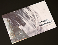 Without Restraint / Book design