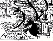 The Mumbai doodle