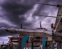 Storm over Disneyland Paris