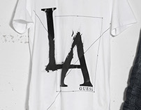 LA graphic for GUESS Europe - SS14 Collection