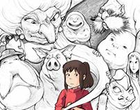 Chihiro & Totoro